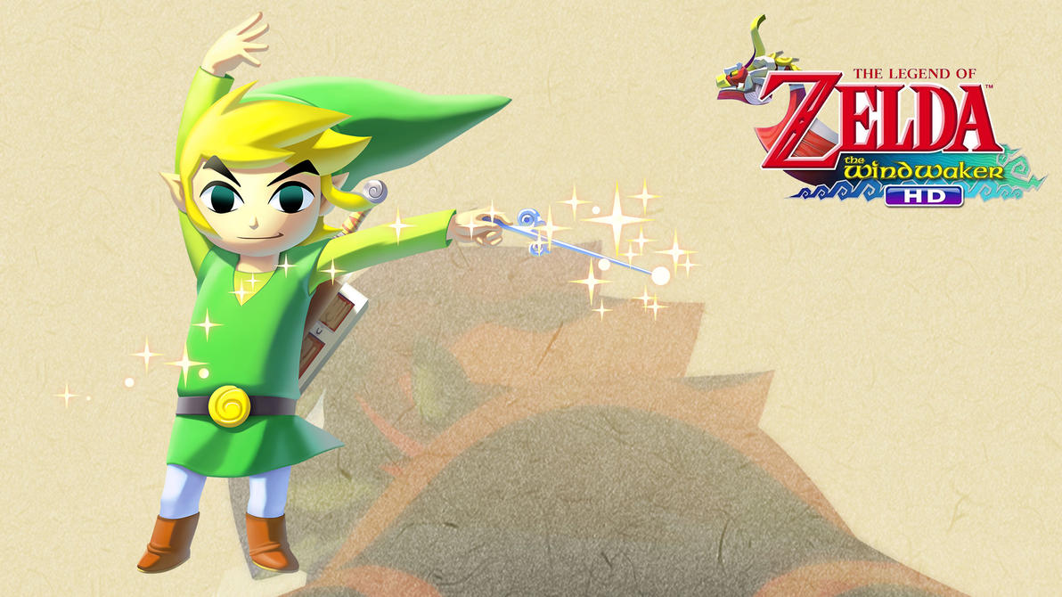 tloz the wind waker wallpaper link by thelimomon on