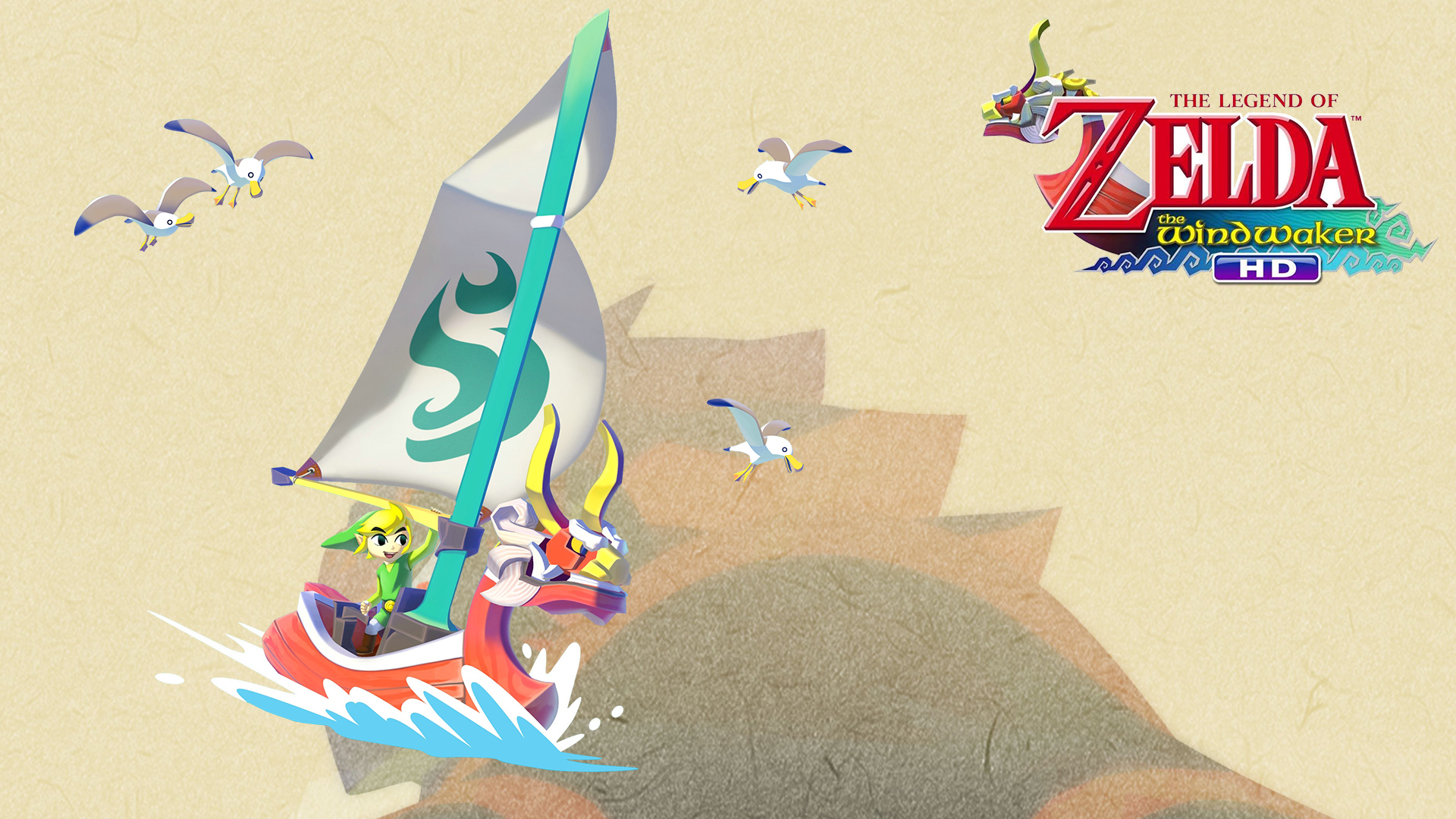 Tloz The Wind Waker Wallpaper Great Sea By Thelimomon On