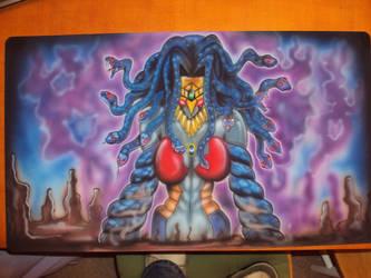 Painted Venom Mat by greenblaze21