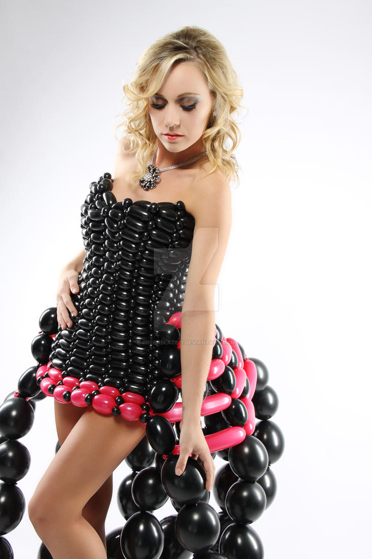 Balloon Dress by greenblaze21