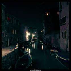 Tipical Venice canal