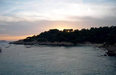 Sunset at Cala Salada - Ibiza
