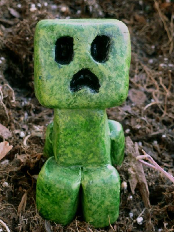 Minecraft - Baby Creeper 01 by hotkeys on DeviantArt