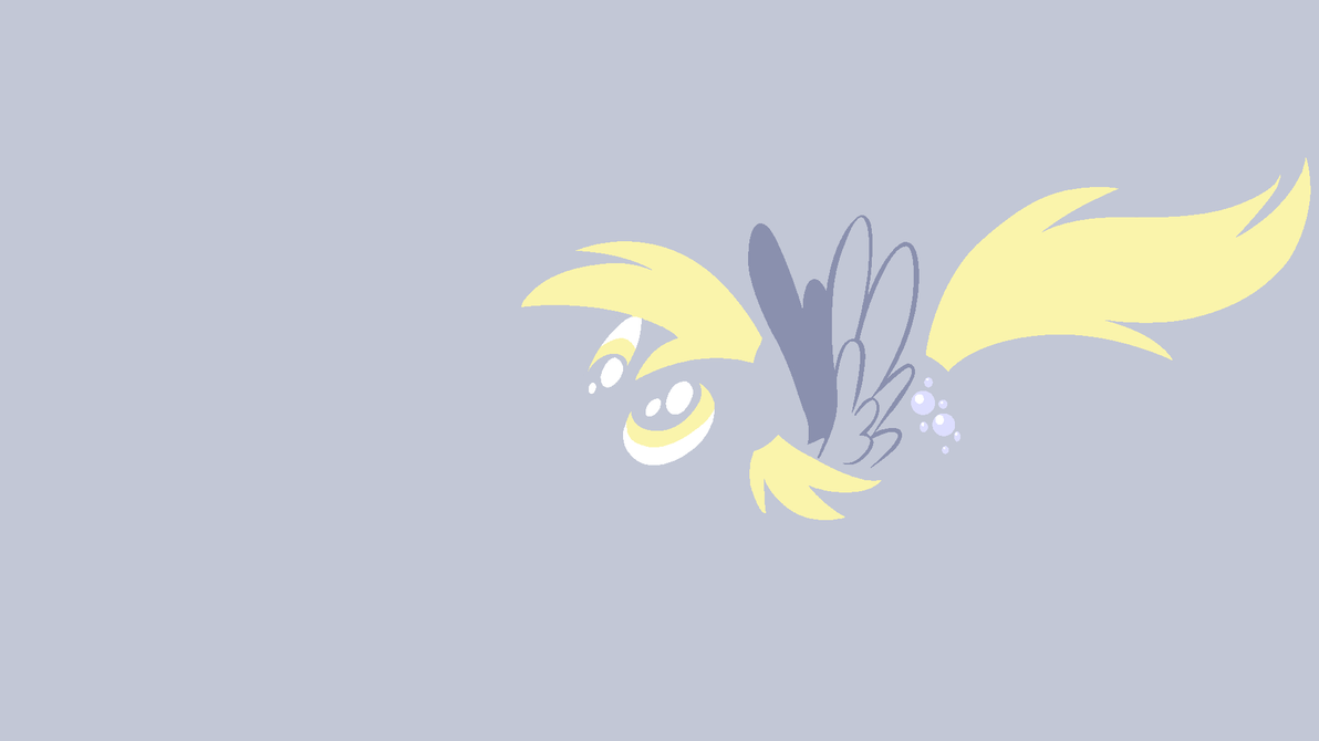 Derpy Hooves Minimal Wallpaper By Kitana Coldfire