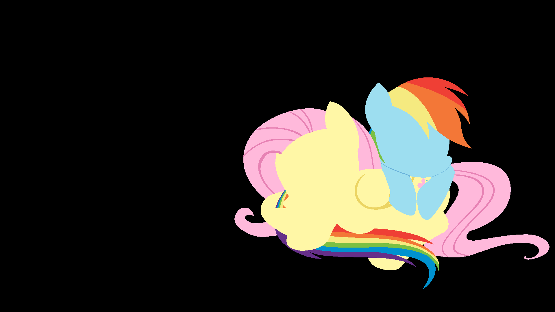 Rainbow Dash Fluttershy wallpaper - 614234