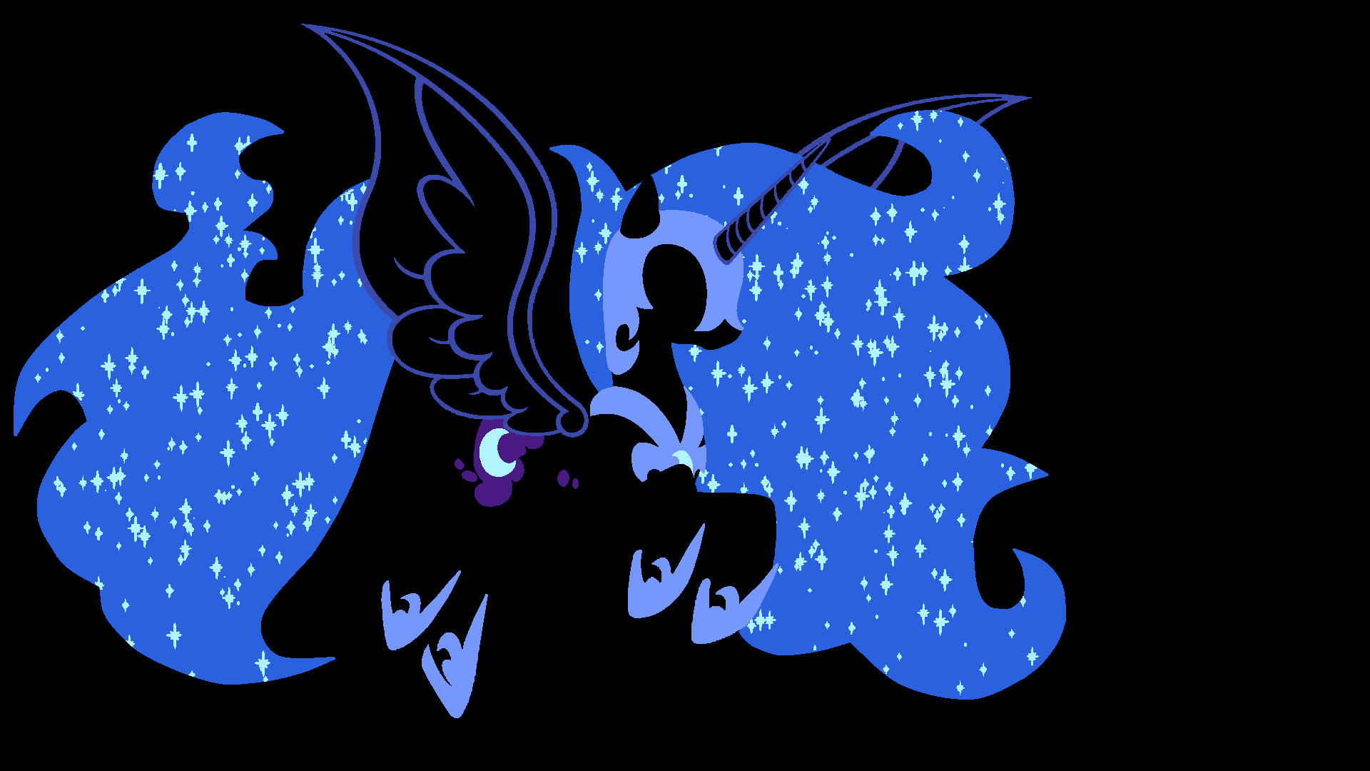 Nightmare Moon Wallpaper by Kitana-Coldfire
