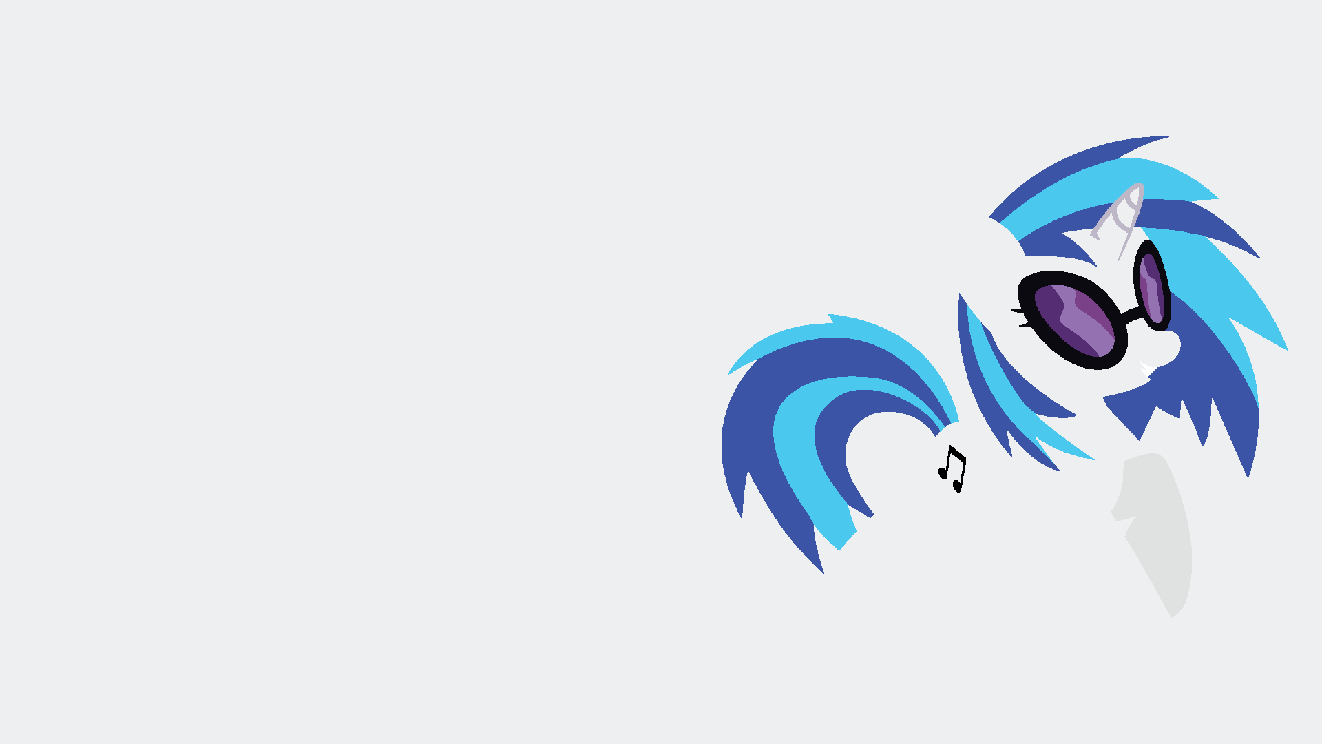 DJ Pon3 Minimalistic Wallpaper by Kitana-Coldfire