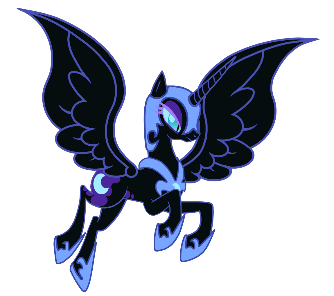 39 comicon 39 nightmare moon no hair by kitana coldfire on. Black Bedroom Furniture Sets. Home Design Ideas