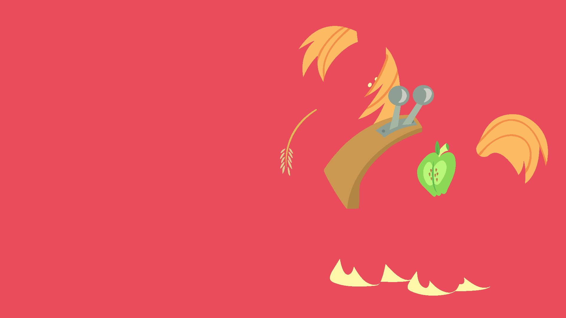 Big Mac Minimalistic Wallpaper by Kitana-Coldfire