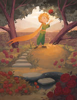 Little Prince: His Rose