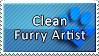 Clean Furry Artist Stamp by DaiKunz