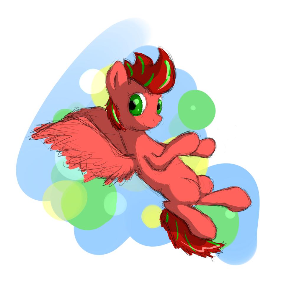 spring_apricot_randomly_flying_around_by