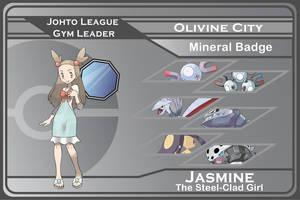 Johto Gym Leader 6 - Jasmine by JohnRiddle20