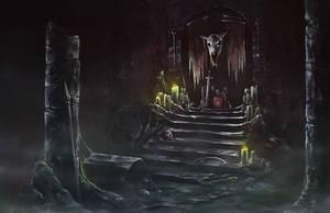 Dungeon altar by SolFar