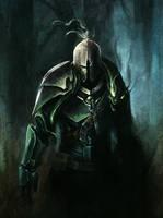 Snake knight by SolFar