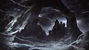 Snow castle by SolFar
