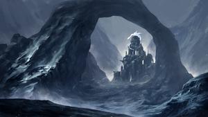 Winter castle by SolFar