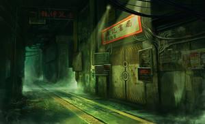 Back alley by SolFar