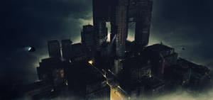 Scifi City by SolFar