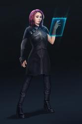 Scifi Officer by SolFar