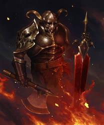 Dark knight by SolFar