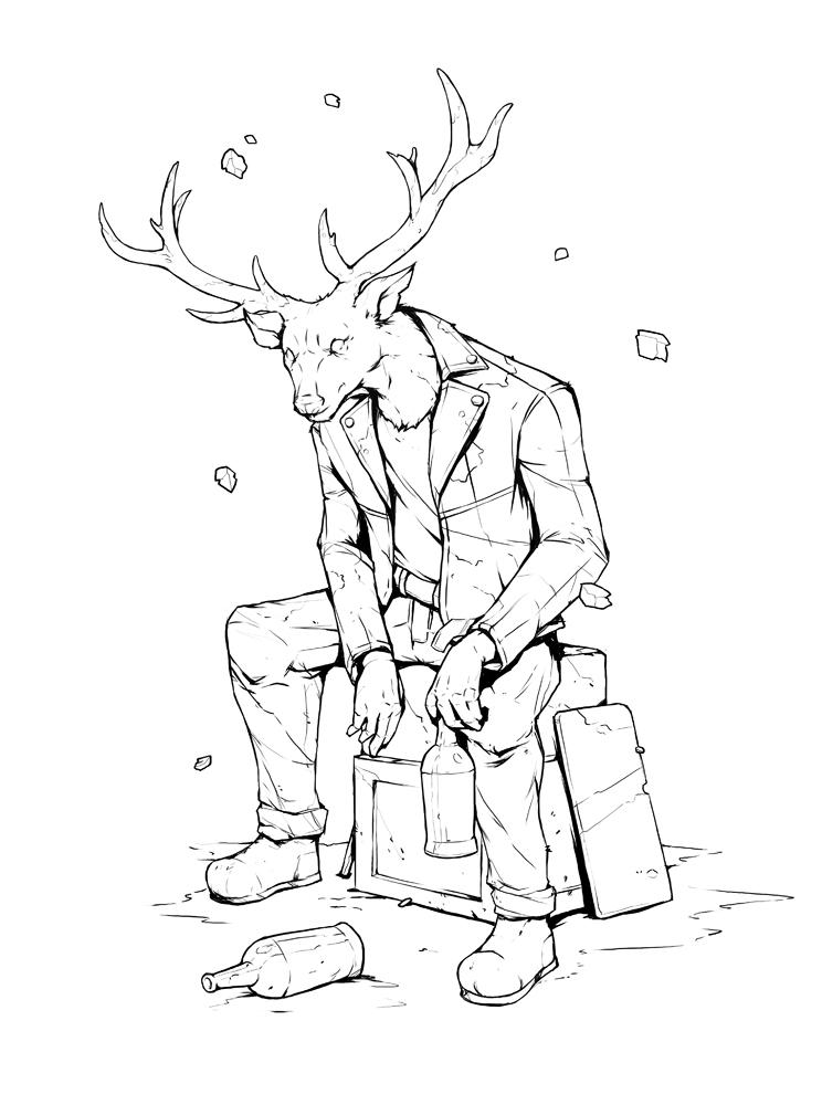 Deer by SolFar