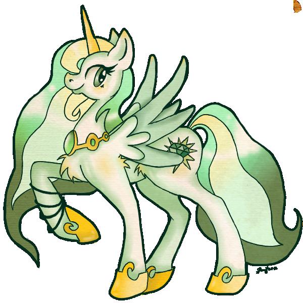PCH: Emerald Sun by Pony-UnTastic