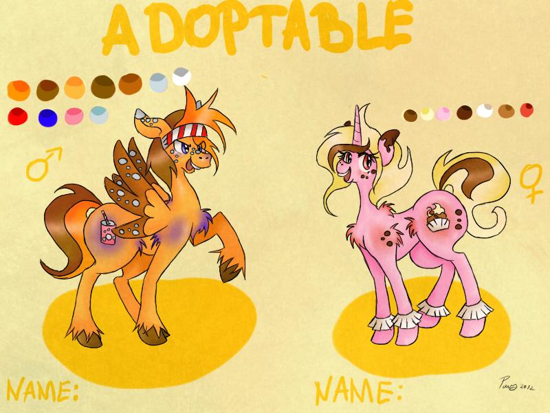 Pony adoptable 001 by Pony-UnTastic