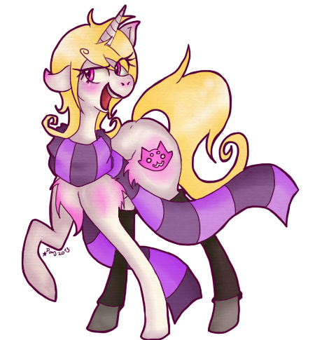 My little Roxy by Pony-UnTastic