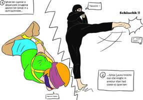 Ninja Laura Mischief by arsenedaubrecq