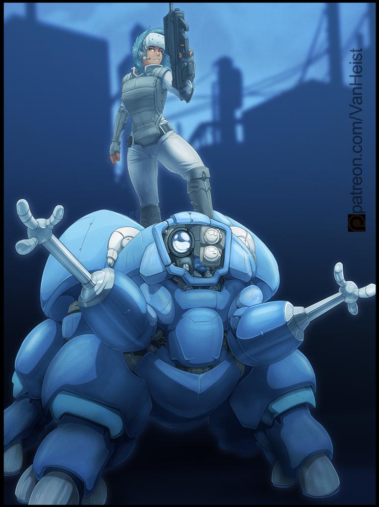 Patreon Art: Major Didi by VanHeist