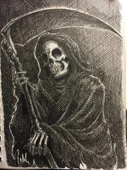 INKTOBER: The Reaper