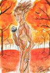 Gariel in Autumn - La descendance profane by K-naille