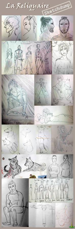 La Reliquaire - sketchdump