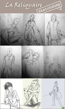 La Reliquaire - sketchdump #2