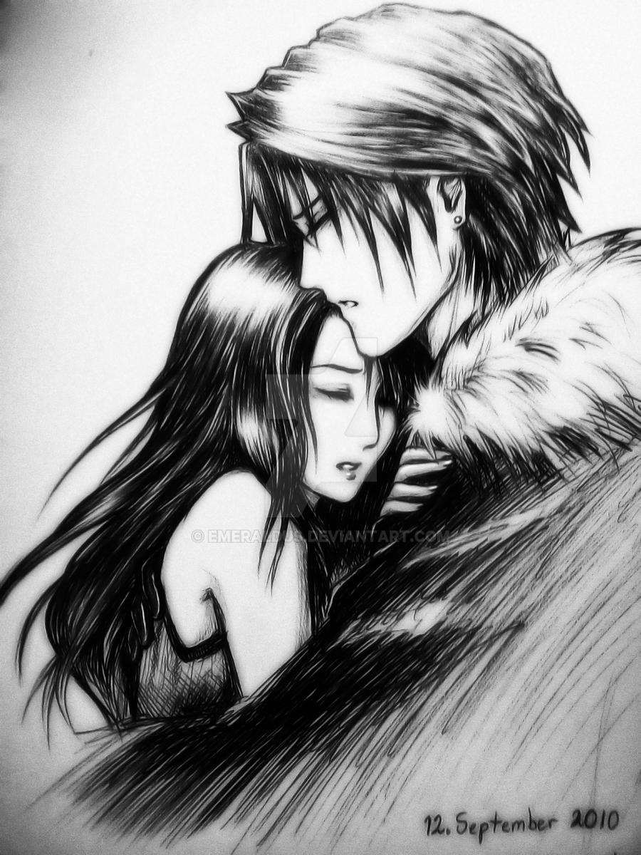 Squall And Rinoa Story Squall x Rinoa Hug by