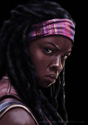 Michonne by Emeraldus