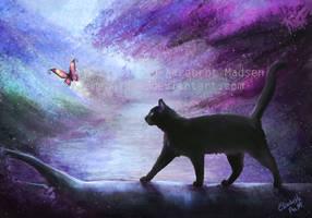 River cat by Emeraldus