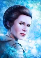 Princess Leia by Emeraldus