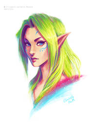 Color Elf by Emeraldus