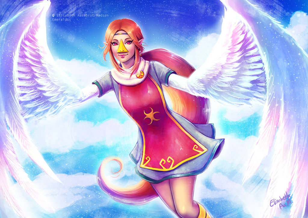 Commission - Medli by Emeraldus
