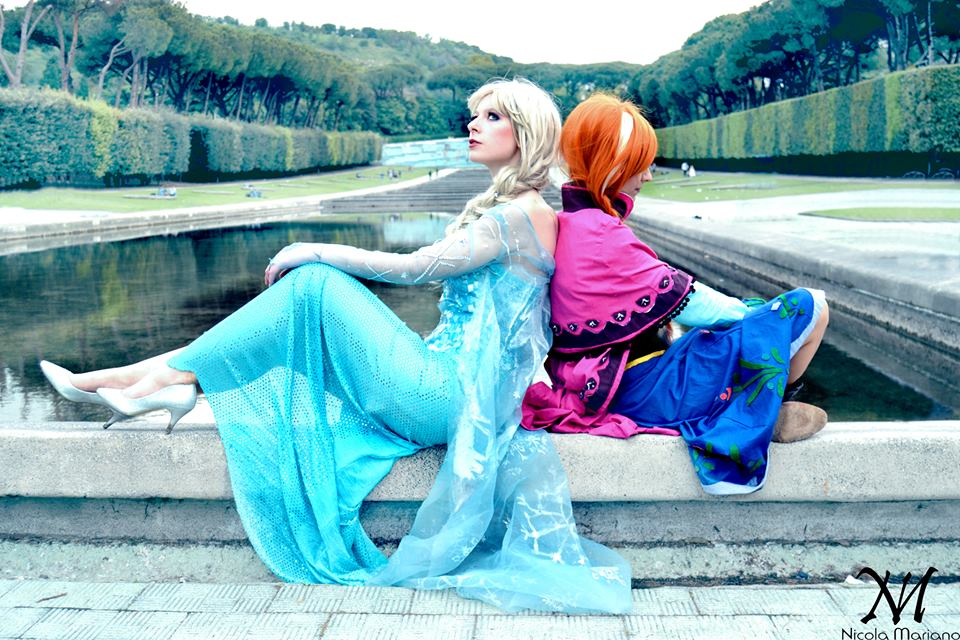 Elsa e Anna - Frozen cosplay by nonsochenomedare