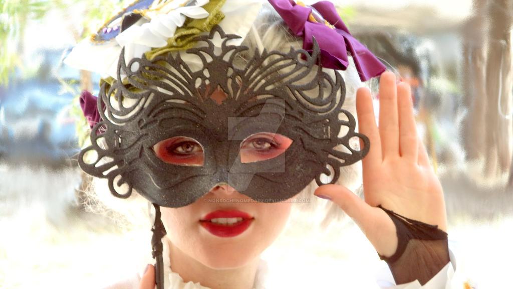 Masquerade- Amethyst- Sakizou by nonsochenomedare