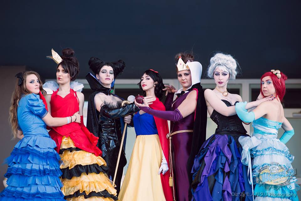 villains and heroines -disney designer collection by nonsochenomedare