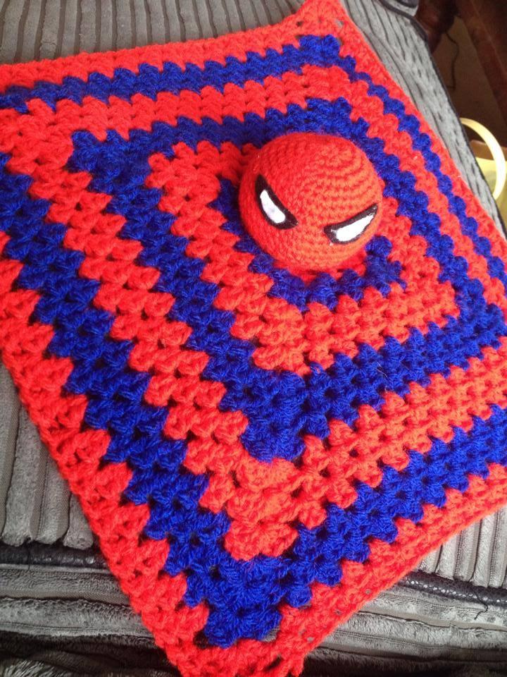 Spiderman Security Blanket by poptartical on DeviantArt