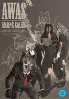 AWAS ANJING GALAK by TraceLandVectorie03