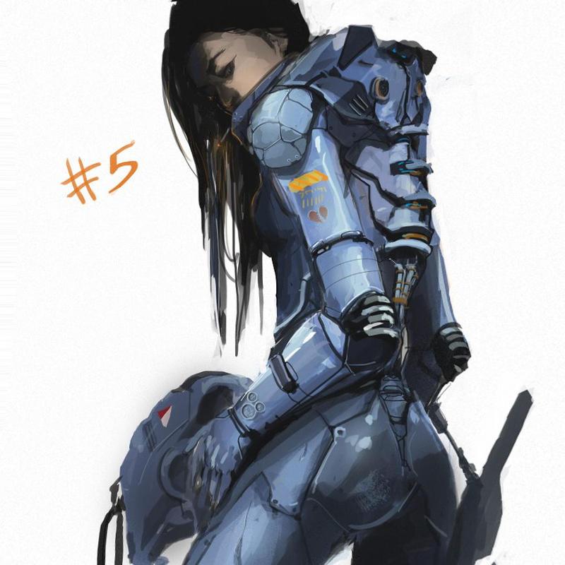 Battle suit concept by TraceLandVectorie03