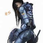 Battle suit concept