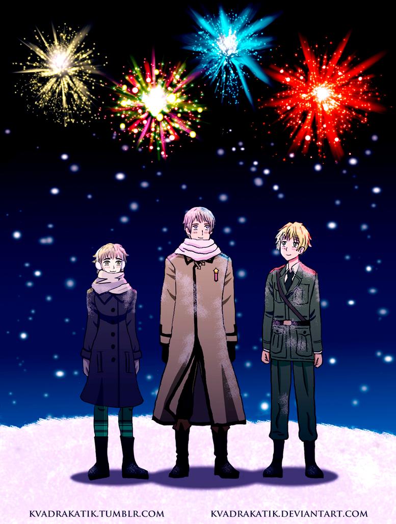 [APH] Winter holidays by KvadraKatik