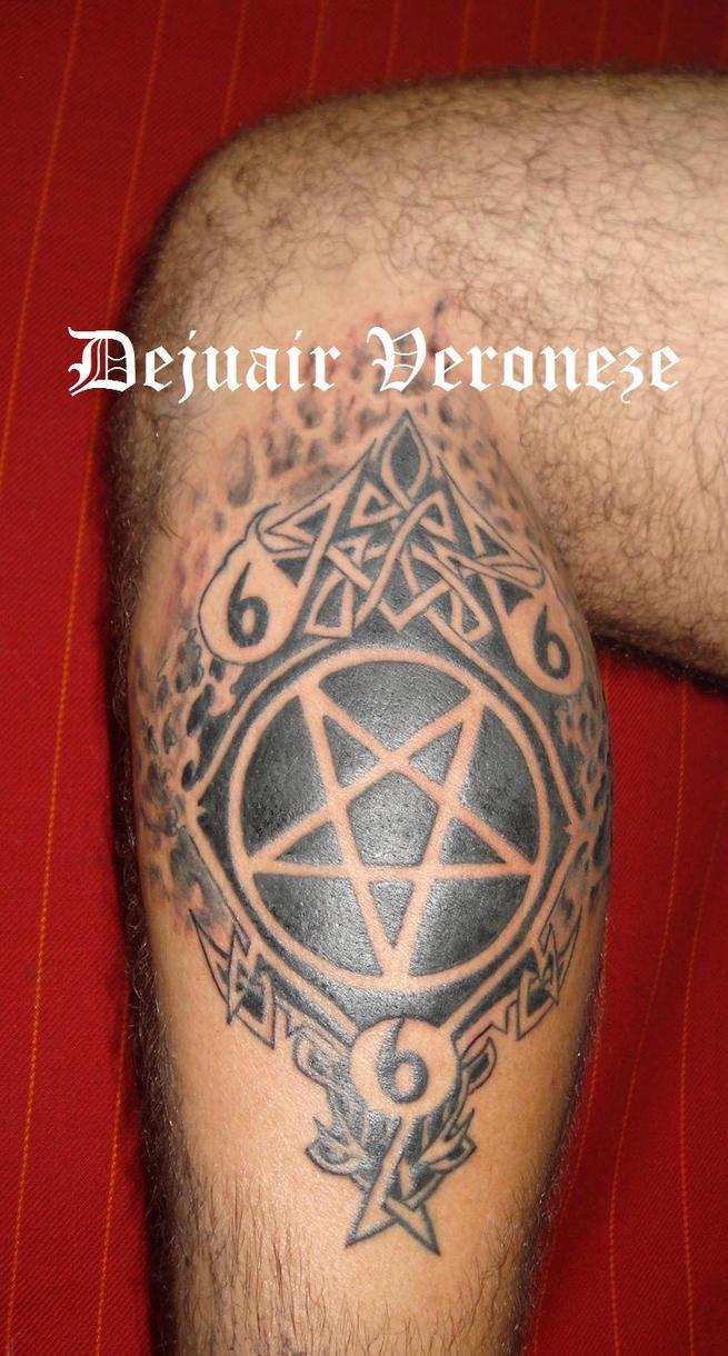 Tattoo 666 by Sombreamentos on deviantART: sombreamentos.deviantart.com/art/tattoo-666-133914799